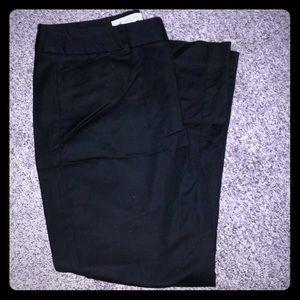 Black Cropped Dress Pant